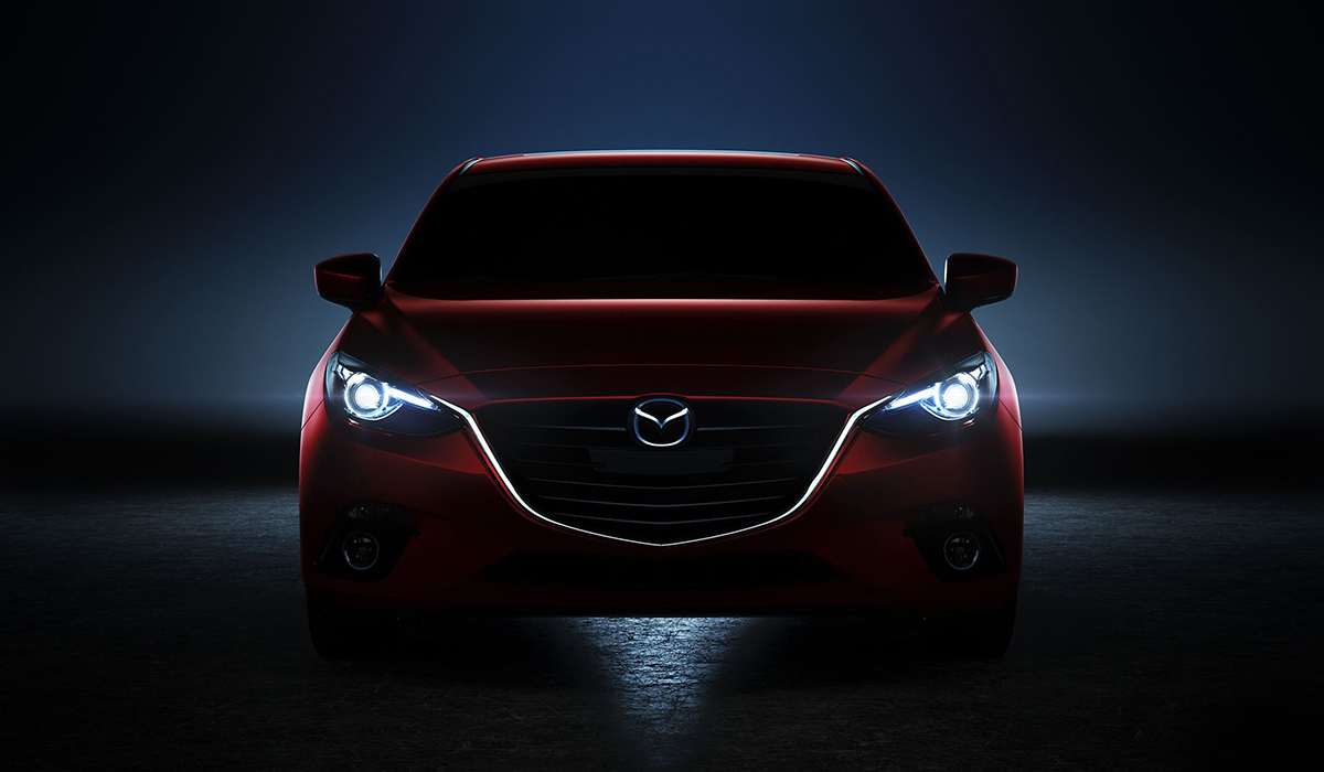 Mazda Front Red