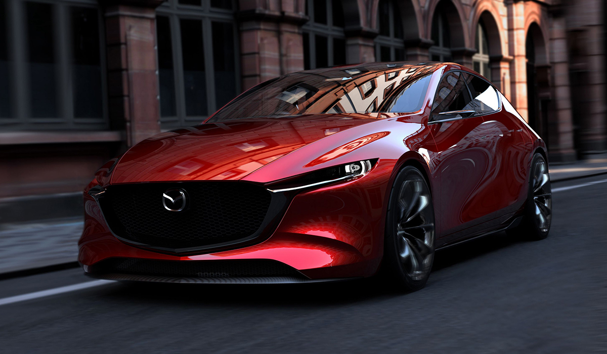 Mazda Red Front