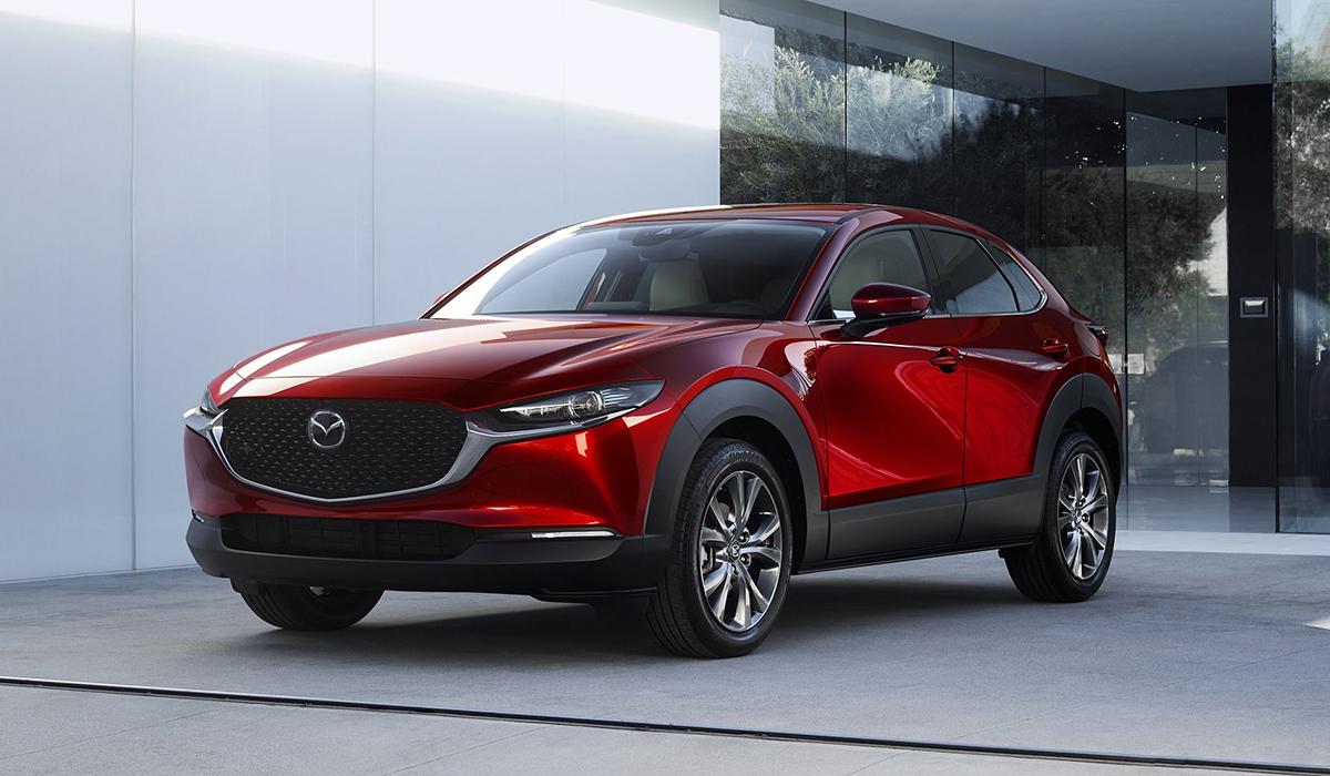 Mazda SUV Red
